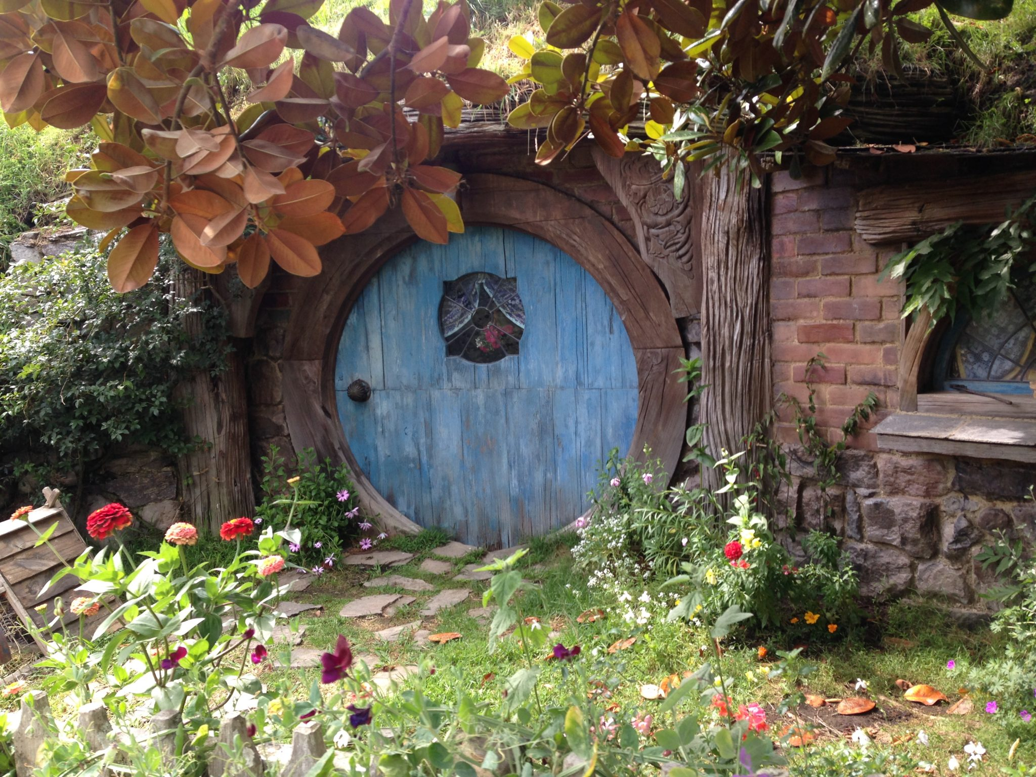 Hobbiton Movie Set, New Zealand.